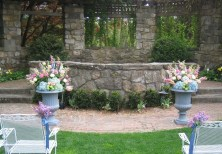 Weddings urns for ceremony
